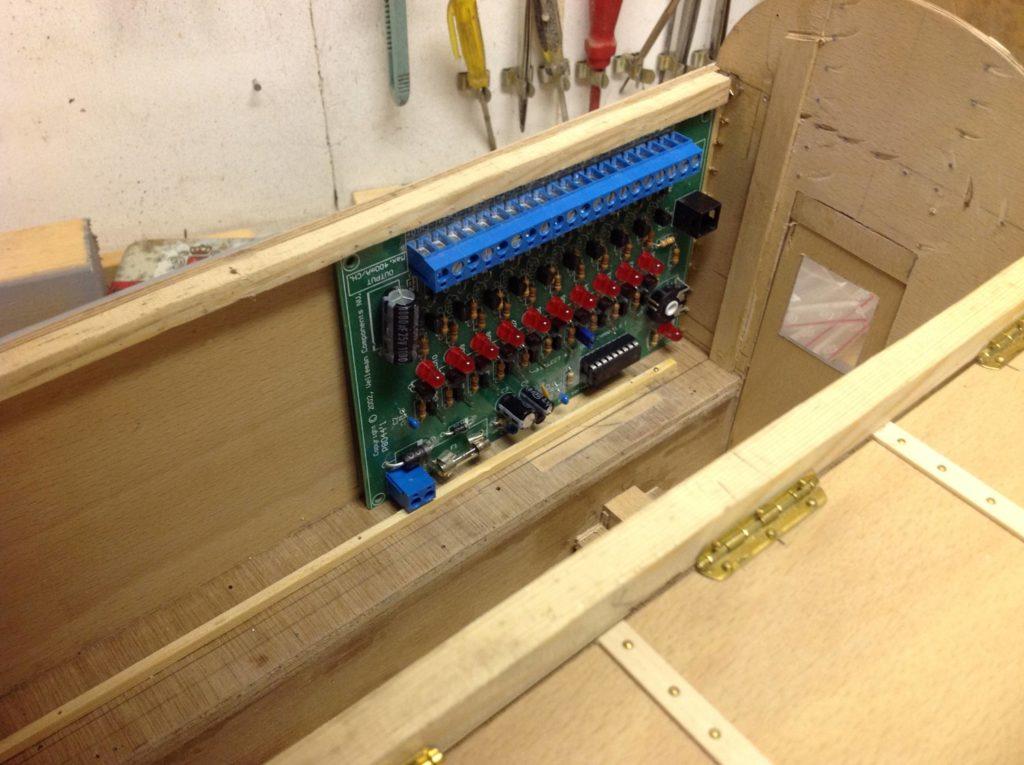 Lichtcomputer Kermis Modelbouw